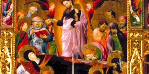 Retablo de la Virgen (Excolegiata de Rubielos)