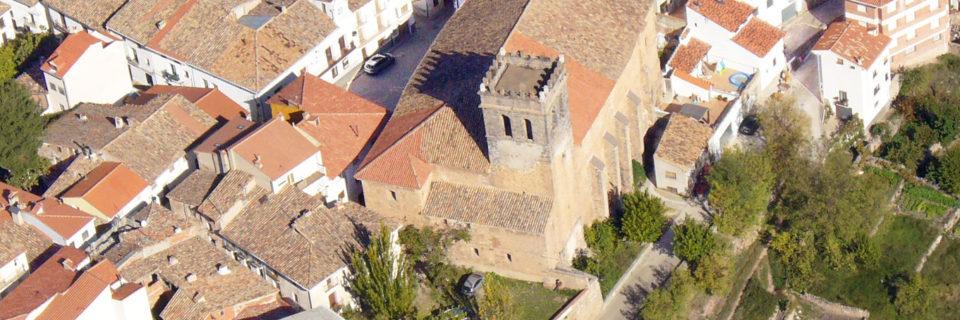 Iglesia del Salvador y retablo mayor